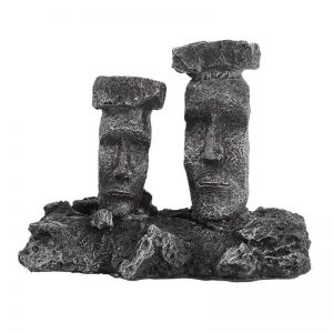 moai aquarium decor