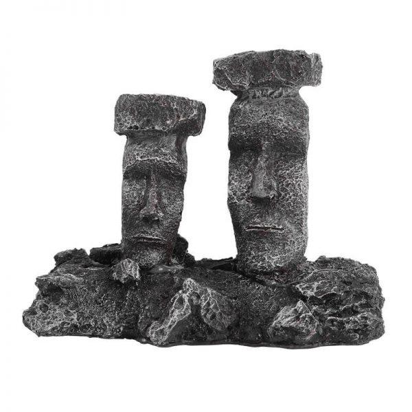 moai aquarium decor