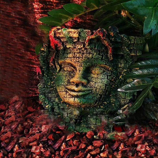 decoration aquarium maya 2